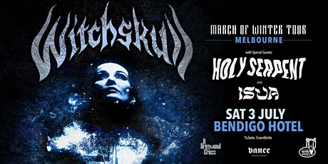 WITCHSKULL//HOLY SERPENT//ISUA tickets
