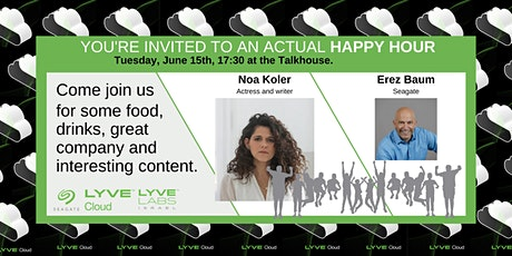 Lyve Cloud Happy Hour tickets