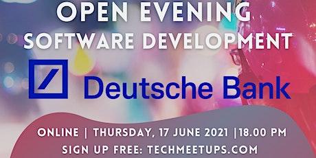 Deutsche Bank Open Evening-Software Development biglietti