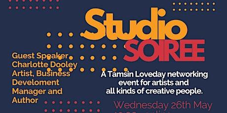 Studio Soiree + Guest Charlotte Dooley, Artist, Business Developer, Author tickets
