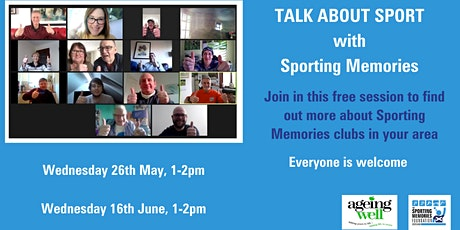 Talk About Sport with Sporting Memories tickets