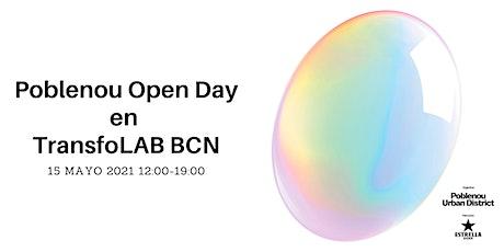 Poblenou Open Day 2021 en TransfoLAB BCN entradas