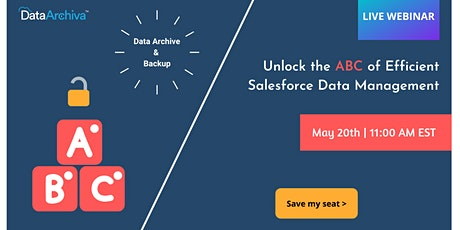 How to Master the ABC of Efficient Salesforce Data Management tickets
