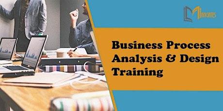 Business Process Analysis & Design 2 Days Virtual Training in Hamilton City tickets