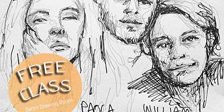 FREE Portrait Drawing Class tickets