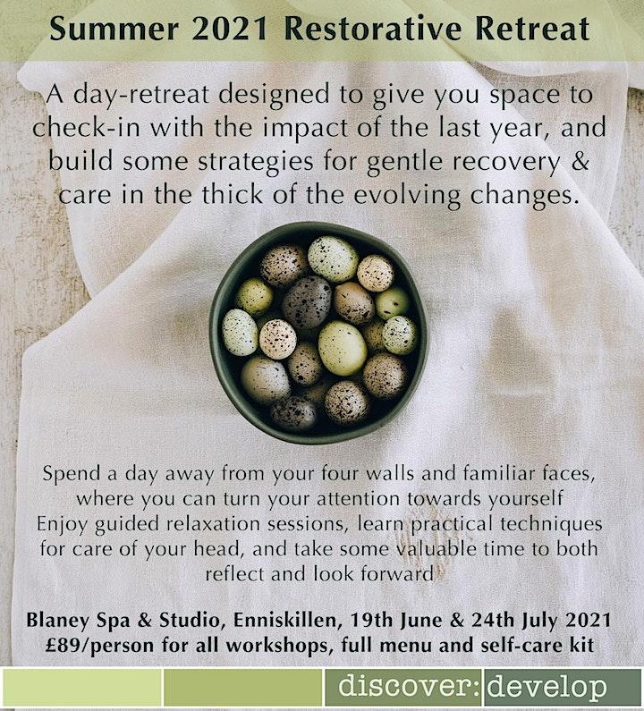 Summer Restorative Retreat: Mindful Self-care image