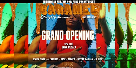 CARAMEL SUNDAYS LAUNCH PARTY! tickets