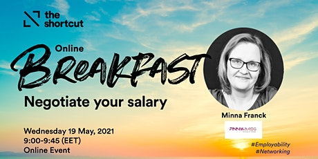 The Shortcut Online Breakfast - Negotiate your salary tickets