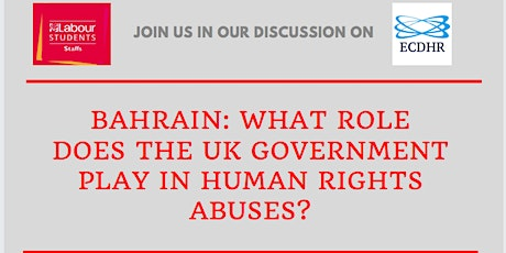 Bahrain: What Role Does the UK Government Play in Human Rights Abuses? Tickets