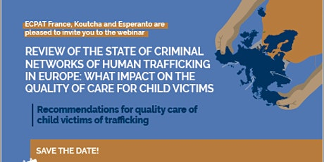 Criminal trafficking networks and care for child victims tickets
