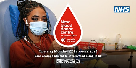 Blood Donation Session, NHS Pop-Up Centre, Westfield tickets
