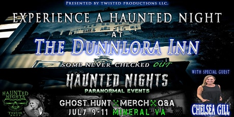 Haunted Nights Paranormal Events at The Dunnlora Inn tickets