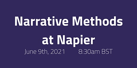 Narrative Methods at Napier tickets