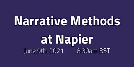 Narrative Methods at Napier tickets