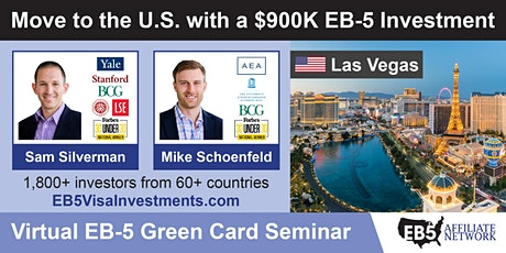 U.S. Green Card Virtual Seminar – Las Vegas, US tickets