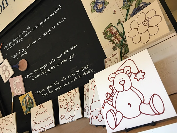 Tile Decorating Workshops image