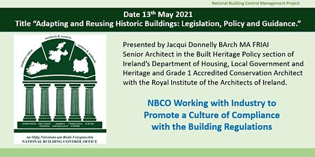 Adapting and Reusing Historic Buildings: Legislation, Policy and Guidance tickets