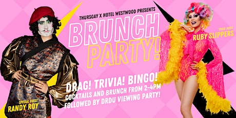 Thursgay presents Drag Brunch at Hotel Westwood! tickets