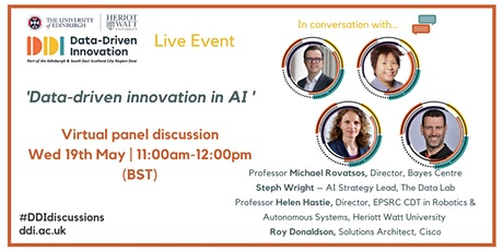 #DDIdiscussions | Data-driven Innovation in AI tickets