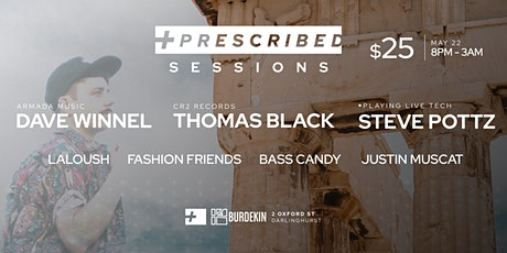 Prescribed Sessions 2 tickets