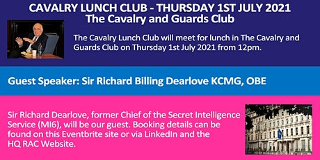 Lunch 1st July 2021 - Cavalry Lunch Club tickets