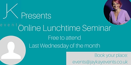 JK Presents...Lunch & Learn Session tickets
