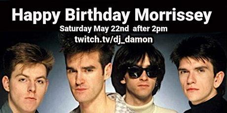 Happy Birthday Morrissey tickets