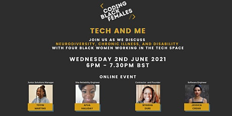 Tech and Me: Neurodiversity, Chronic Illness, and Disbility in Tech tickets