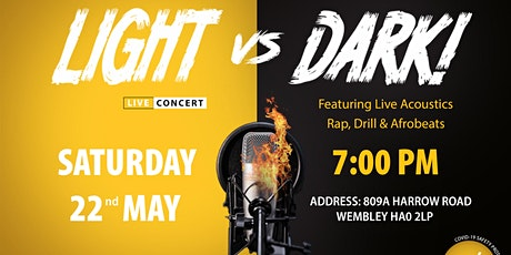 Light VS Dark // LIVE Concert tickets