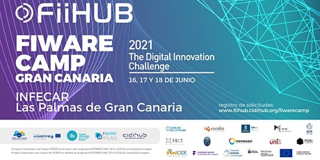 FIWARE CAMP GRAN CANARIA 2021 by FiiHUB tickets