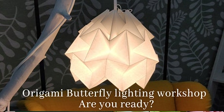 Origami -  Butterfly Lampshade workshop bilhetes