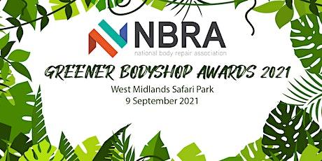 Greener Bodyshop Awards 2021 tickets