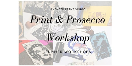 Print and Prosecco Workshop | David Hockney Theme tickets