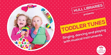 Toddler Tunes - Bransholme Library FREE tickets