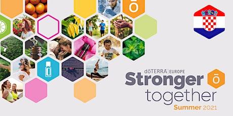 dōTERRA Stronger Together Summer 2021 - Croatia tickets