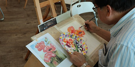 Watercolour Painting 24 Sessions Course专业水彩画课程 – AZ @ PAYA LEBAR tickets
