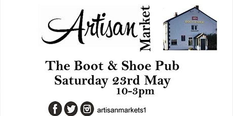 Artisan Market at The Boot and Shoe Pub Elswick tickets