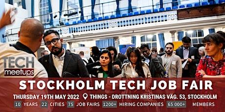 Stockholm Tech Job Fair  By Techmeetups biljetter