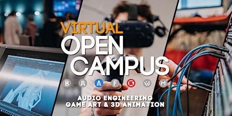 Campus Insights / Game Art & 3D Animation und Audio Engineering tickets