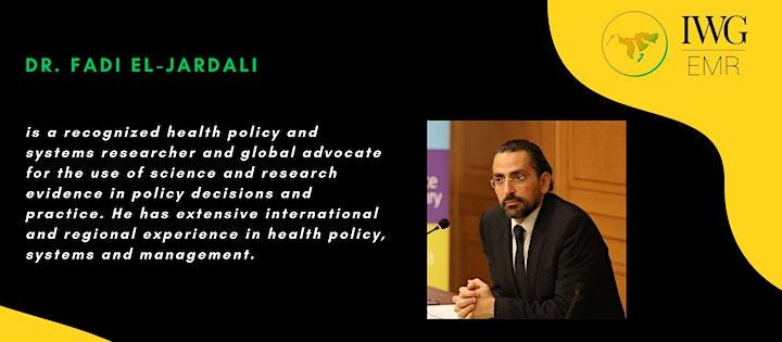 Eastern Mediterranean Region IWG Global Lecture image