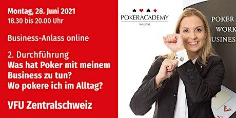 Business-Anlass online, Zentralschweiz, 28.06.2021 Tickets