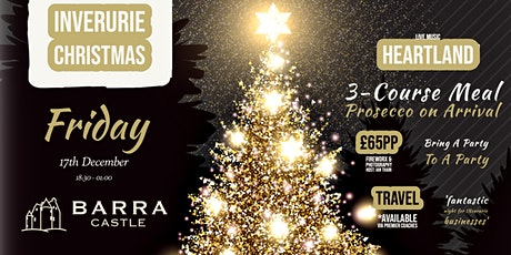 'Bring a Party to a Party' at Barra Castle, Christmas 2021 tickets