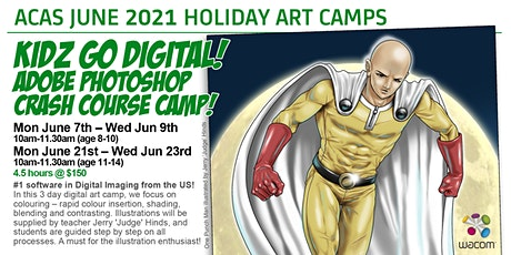 KIDZ GO DIGITAL! Adobe Photoshop Crash Course! tickets