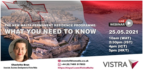 The new Malta Permanent Residence Programme: What you need to know tickets