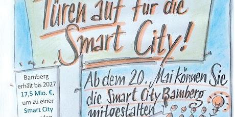 """""""Türen auf"""" - Start der Bürgerbeteiligung für die Smart City Bamberg Tickets"""