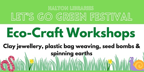 Let's Go Green festival - Eco-craft workshop: clay jewellery making tickets