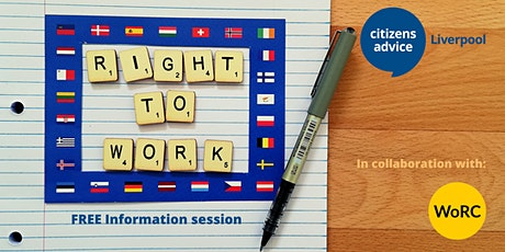 EU Citizens and the Right to Work - FREE Information Session tickets