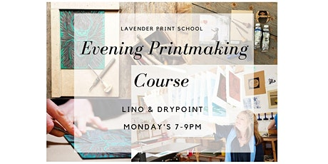 Evening Printmaking Course in Lino and Drypoint tickets