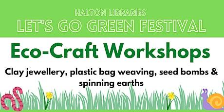 Let's Go Green festival - Eco-craft workshop: plastic bag weaving tickets
