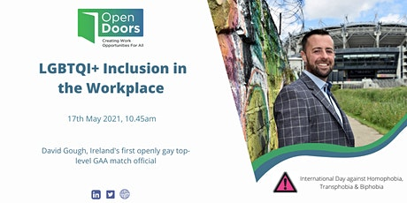 LGBTQI+ Inclusion in the Workplace tickets